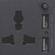 Ổ Cắm Đa Năng Và USB Đôi